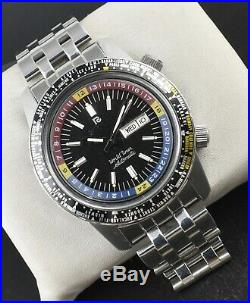 Ricoh World Time GMT 61215A Automatic 21 Jewels 1970-1979 Men's Wrist Watch