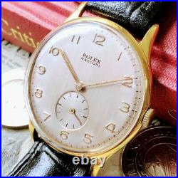 Rolex Marconi 1940s Vintage Antique Mechanical Winding Wrist Watch From JAPAN
