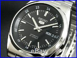 SEIKO 5 SNK567 SNK567J1 21 Jewels Automatic Japan Made 30m WR Box & Manual