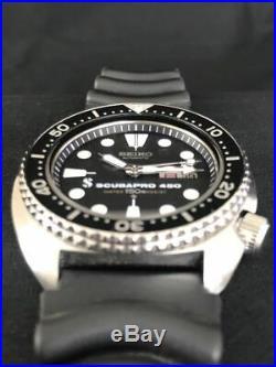 SEIKO 6306-7001 3rd Diver SCUBAPRO 450 Vintage Day Date Automatic Men's MIJ 1173