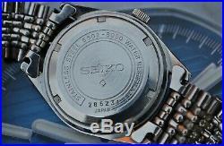 SEIKO 6602-8050 GENTS VINTAGE WATCH ON BEADS OF RICE BRACELET c1970's