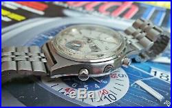 SEIKO 7016-8001 FLYBACK AUTOMATIC CHRONOGRAPGH GENTS VINTAGE WATCH c1973-RARE