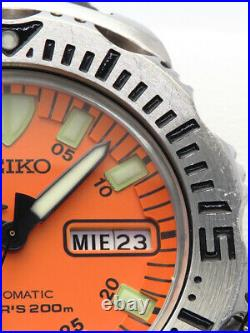 SEIKO Divers Orange monster 7S26-0350 From Japan Free Shipping