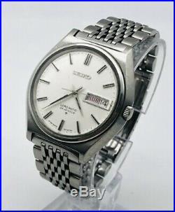 SEIKO Lord Matic 25 Jewels Automatic 5606 7010 Mens Watch Vintage