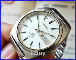 SEIKO Lord Matic LM DAY/DATA Rare Vintage Automatic wrist watch 23J From Japan