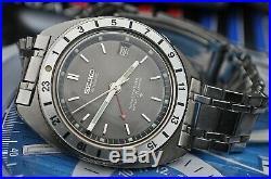 SEIKO NAVIGATOR TIMER 6117-8000 AUTOMATIC GENTS VINTAGE WATCH c1968-RARE