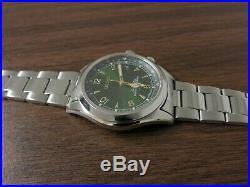 SEIKO SARB017 Alpinist Green Dial 6R15 00E1 Metal/Leather/Nylon 5 Bracelets