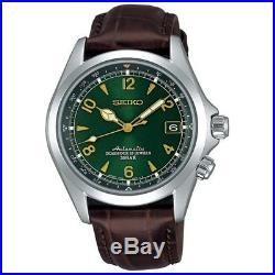 SEIKO SARB017 Mechanical Alpinist Automatic Men's Leather Watch Luxury UK