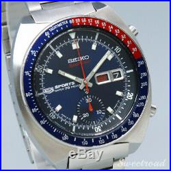 Seiko 5 Sports 6139-6000 Speed Timer Cal. 6139A 1969 Automatic Auth Mens Watch