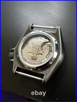 Seiko 5 Sports Men's 24-Jewel Automatic Watch with Leather Strap & Blk n Gray NATO
