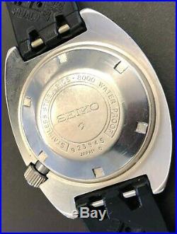 Seiko 6105-8000 Vintage Diver 1969