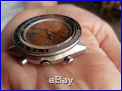 Seiko 6139-6040 tropical dial Vintage Watch CW