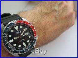 Seiko 7548-700b pepsi 150m divers february 1979 original strap or mesh 5 jewels