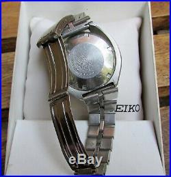 Seiko Bullhead 6138-0040 Automatic Vintage Chronograph, Run, Nice condition
