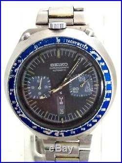 Seiko Bullherd Ref 6138 0040 Cronograph Automatic Day Date Japan 932300