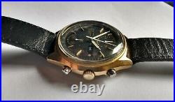 Seiko Double Chrono Black Panda 6138-8020 analog 70's vintage watch