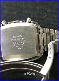 Seiko Monaco Automatic 7016-5001 Stunning Condition June1974 Rare Dial Original
