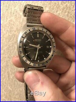 Seiko Navigator Timer 6117-8000 Vintage 24hr Automatic GMT March 1969
