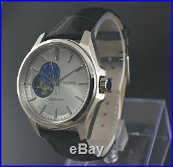 Seiko Presage Skeleton 4r39-00g0 Sary 24 Jewels Automatic Men's Wrist Watch