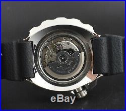 Seiko Prospex SRPA81J1 Custom Mod 4R36 Automatic Baby Tuna 200M Black Wrist