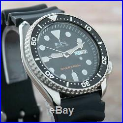 Seiko SKX007 Divers Watch Men Vintage 90's Automatic Day Date ref. 7S26-0020