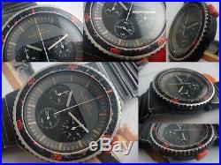 Seiko Speed Master 7A28-6000 GiuGiaro Vintage Quartz Authentic Mens Watch Japan