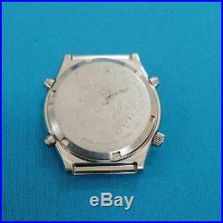 Seiko Speed Master 7A28-701A Chronograph Stainless Steel Quartz Mens Watch