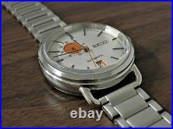 Seiko Spirit Smart SCVE007 Orange Dot 4R37 01B0 Automatic Watch