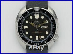 Seiko Turtle 150m Diver 6309-7049 Automatic Wrist Watch