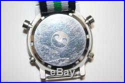 Seiko Yacht Timer 7A28-7090 Vintage Rare Quartz Authentic Mens Watch Works
