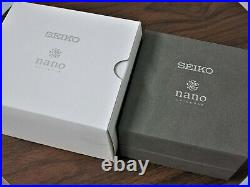 Seiko×nano universe SZSJ006 Daytona 8T67 00J0 Panda Chronograph Quartz