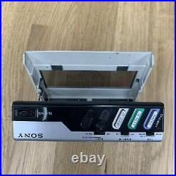 Sony Walkman WM-F15 FM/AM Stereo Cassette Player No Batt Cover NOT Tested