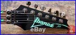 Stunning Early Vintage Ibanez Jem 1989 777VBK (Vine Black) First Edition + Case