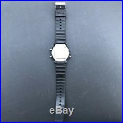 Super Rare 1990 Vintage CASIO DW-400 (905) Tachy Meter 20BAR 43mm case