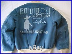 Super are Vintage Dead Stock A Bathing Ape Bape x Futura Stadium Jacket