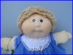 Tsukuda Japan Cabbage Patch Kids Girl Doll Certificate Box