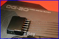 Used DG-20 CASIO Digital Guitar MIDI Synthesizer DG 20 from Japan