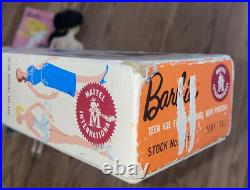 VINTAGE 1959 1960 MATTEL BARBIE DOLL #3 Brunette PONY TAIL SWIMSUIT JAPAN Blonde