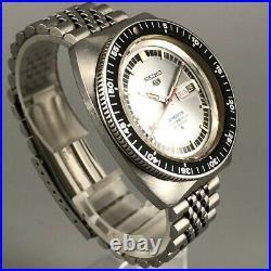 VINTAGE 1968 SEIKO 5 SPORTS DIVER 6106-8120 25Jewels Men's Automatic Watch #477