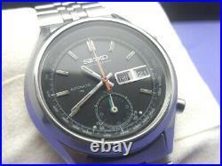 VINTAGE 1970'S SEIKO CHRONOGRAPH 7016-8001 (5 hands) ORIGINAL CONDITION #7131