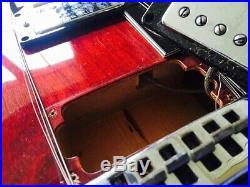 VINTAGE 1970's GRECO ES-335 HOLLOW BODY SA-550 PERSIMMON RED FUJIGEN JAPAN MIJ