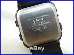 VINTAGE 80's CASIO AE-20W TWIN GRAPH DIGITAL WATCH with NEW BATTERY