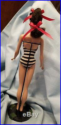 VINTAGE Barbie #3 BRUNETTE PONYTAIL-Clean Doll from personal collection