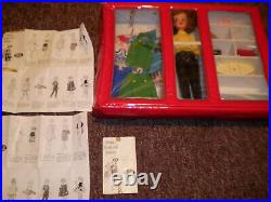 VINTAGE Ideal Tammy Doll With Case, Clothes, Papers, & More Japan Tammy Family