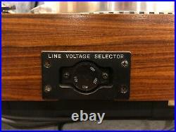 VINTAGE PIONEER pl 570 TURNTABLE DIRECT DRIVE, Real Wood. Parts Or Repair
