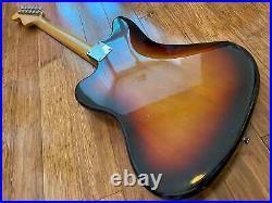 Very Rare Vintage 1982-84 Jv Serial Fender Jazzmaster'66 Ri Fujigen Sunburst