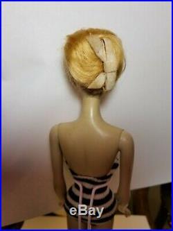 Vintage #1 Barbie Blonde With FRENCH TWIST