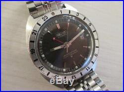 Vintage 17j SEIKO GMT NAVIGATOR 6117-8000 38mm 1969 nice condition