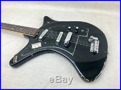 Vintage 1960's Ibanez Biz Moon Electric Guitar Made in Japan Rare-Bizarre 1966