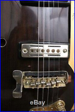 Vintage 1960's Kay K-900G Hollowbody Electric Guitar Walnut